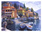 Lake Como Landing by Howard Behrens art print