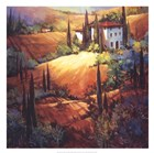 Morning Light Tuscany by Nancy O'Toole art print