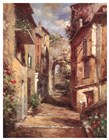 Tuscan Village by Normand Mayer art print